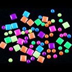 GOYESTORE Neon Stud Rhinestone Fushion Nail Art DIY Decoration in