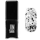 JINsoon Nail Lacquer in Polka Black