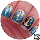 Twinkled T Anchor Nail Tape in