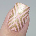 Whats Up Nails X-pattern Stencils for Nails in