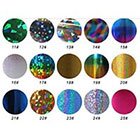 Y2B Newest Fashion 25 colors Nail Art Transfer Foil Nail Sticker Tip Decoration in