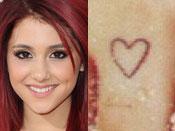 Ariana Grande's Tattoo
