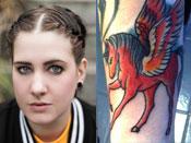 Beth Lucas' Tattoos