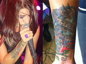 Cassadee Pope's Tattoos