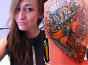 Jacqui Sandell's Tattoos