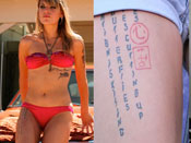 Juliet Simms' Tattoos