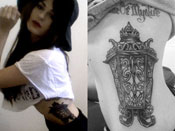 Scout Taylor-Compton's Tattoos